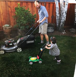 Stay At Home Dad Lawn Mower